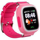 Детские смарт-часы телефон с Wi Fi и GPS UWatch Q90 pink (in-103), фото 6