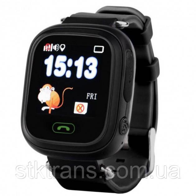 Детские смарт-часы телефон с Wi Fi и GPS UWatch Q90 black (in-104)