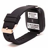Детские смарт-часы телефон с Wi Fi и GPS UWatch Q90 black (in-104), фото 4