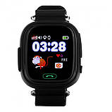 Детские смарт-часы телефон с Wi Fi и GPS UWatch Q90 black (in-104), фото 7