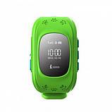 Детские смарт-часы Smart Watch Q50 с GPS трекер Green (in-113), фото 2