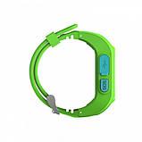 Детские смарт-часы Smart Watch Q50 с GPS трекер Green (in-113), фото 3