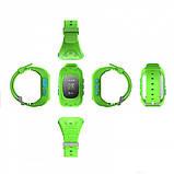 Детские смарт-часы Smart Watch Q50 с GPS трекер Green (in-113), фото 4