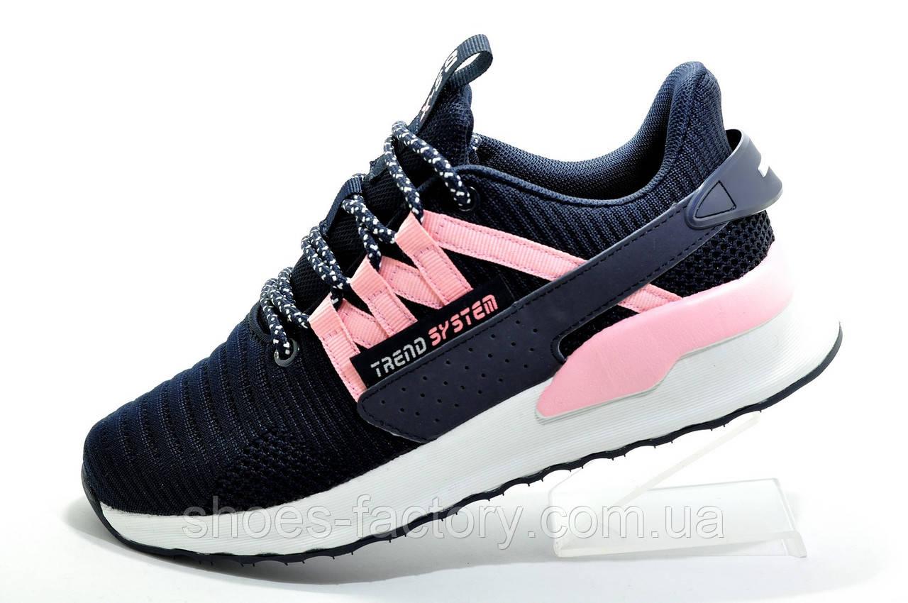 Женские кроссовки Baas, Dark blue\White\Pink