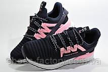 Женские кроссовки Baas, Dark blue\White\Pink, фото 2