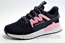 Женские кроссовки Baas, Dark blue\White\Pink, фото 3