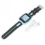 Детские смарт-часы UWatch F2 с GPS Blue (ml-12), фото 2