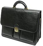 Мужской портфель 4U Cavaldi Черный (10-EX black), фото 2