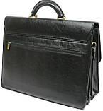 Мужской портфель 4U Cavaldi Черный (10-EX black), фото 4