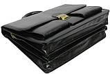 Мужской портфель 4U Cavaldi Черный (10-EX black), фото 5