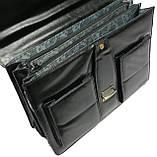 Мужской портфель 4U Cavaldi Черный (10-EX black), фото 6