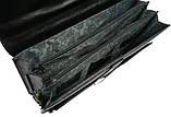 Мужской портфель 4U Cavaldi Черный (10-EX black), фото 7