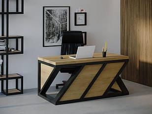 Компьютерный стол Skandi Wood SW072 Алабама Натуральный Дуб (SW07218875NaOMDF)