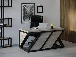 Компьютерный стол Skandi Wood SW072 Алабама Серый Дуб (SW07218875GrOMDF)
