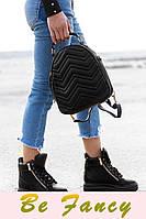 Демисезонные кожаные кроссовки