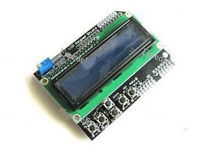 LCD Keypad Shield модуль Arduino 1602 ЖК дисплей