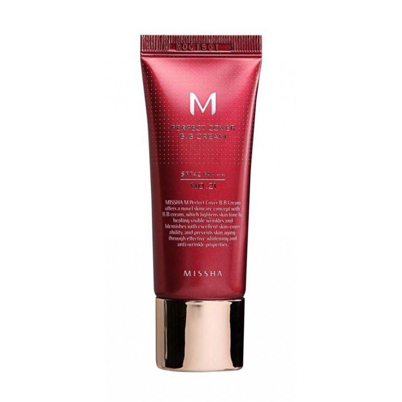 ББ крем Missha M Perfect Cover B. B Cream Світлий Беж (21), 20ml