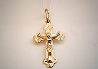 Золотой крестик 585 пробы