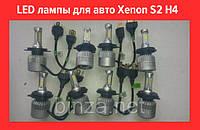 LED лампы для авто Xenon S2 H4 Ксенон!Лучший подарок