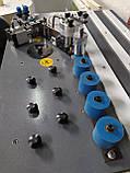 HOLZ T-503 Кромкооблицовочный станок с отсечкой кромки, криволинейный прямолинейны, 2 вала, 220 В, фото 7