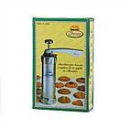 Кондитерский шприц пресс для изготовления разных видов печенья и декорации тортов Biscuits А70, фото 5