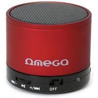 Акустична система OMEGA Bluetooth OG47R red (OG47R)