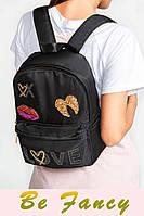 Рюкзак с нашивками