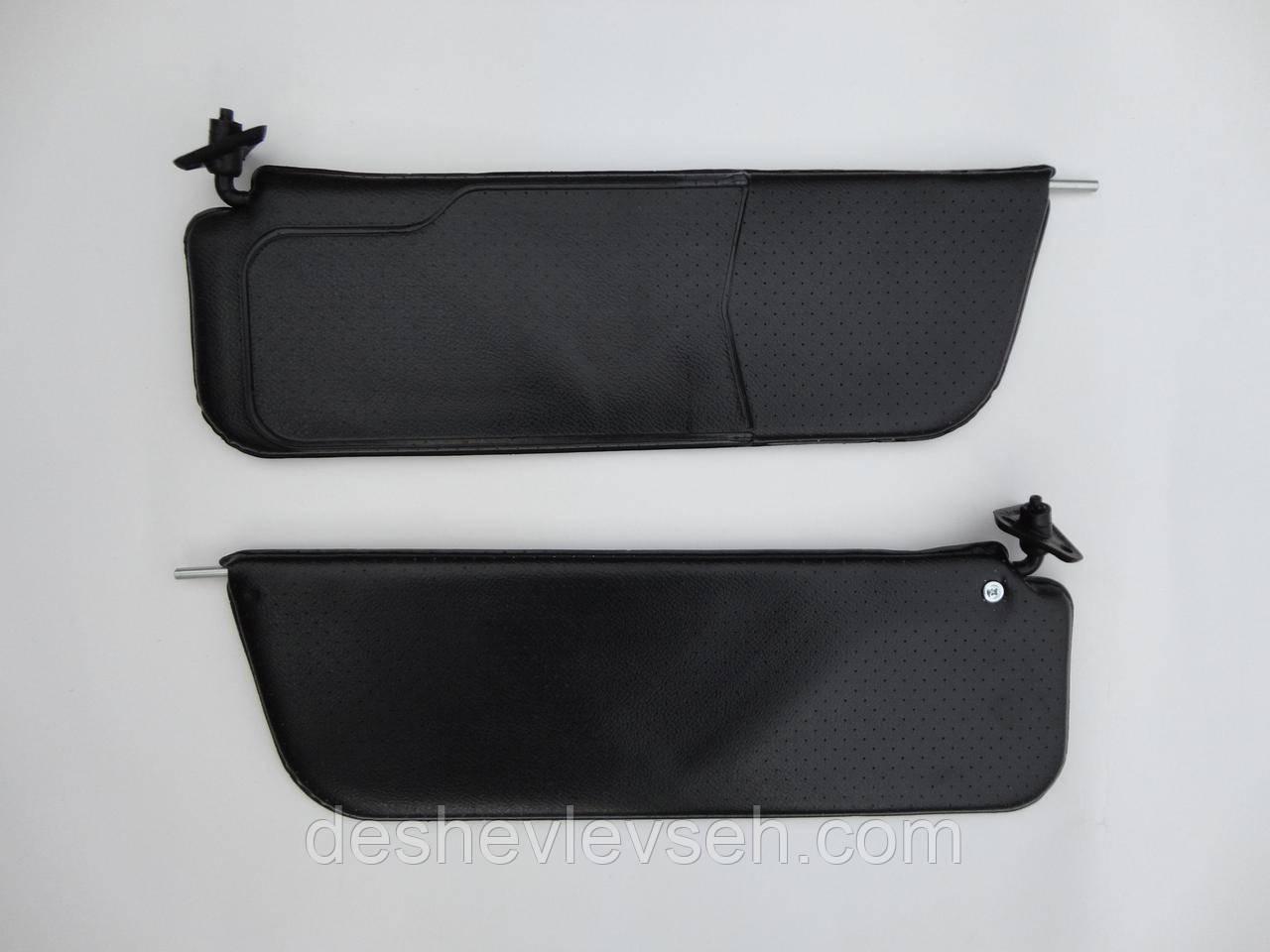 Козырьки ВАЗ-2106 солнцезащит. черные, 2106-8204010/11 (Сызрань)