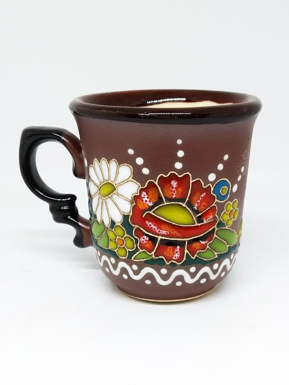 """Чашка кофейная 150мл """"Квіти"""""""