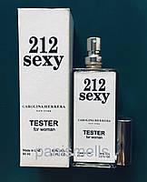 Парфюмированная вода Carolina Herrera 212 Sexy 60 мл тестер