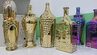 Бутылка декоративная  (цвет: ЗОЛОТО)