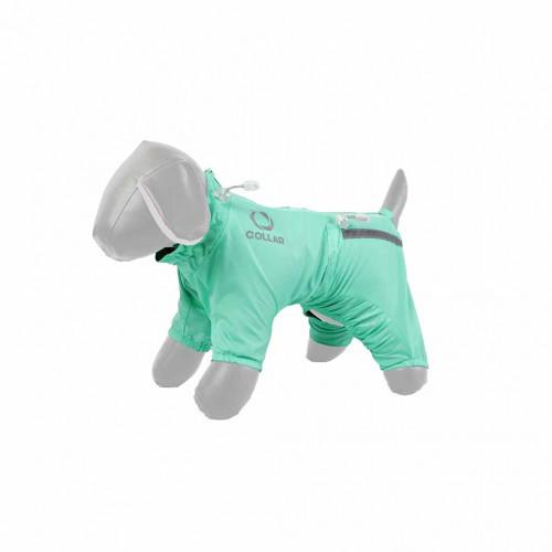 Дождевик Теремок XS25 для собак, мятный