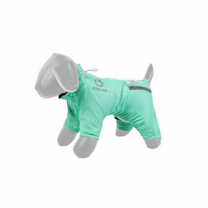 Дождевик Теремок XS25 для собак, мятный, фото 2