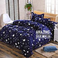 Постельное белье Двуспальное  Двуспальный комплект постельного белья с Фланели.