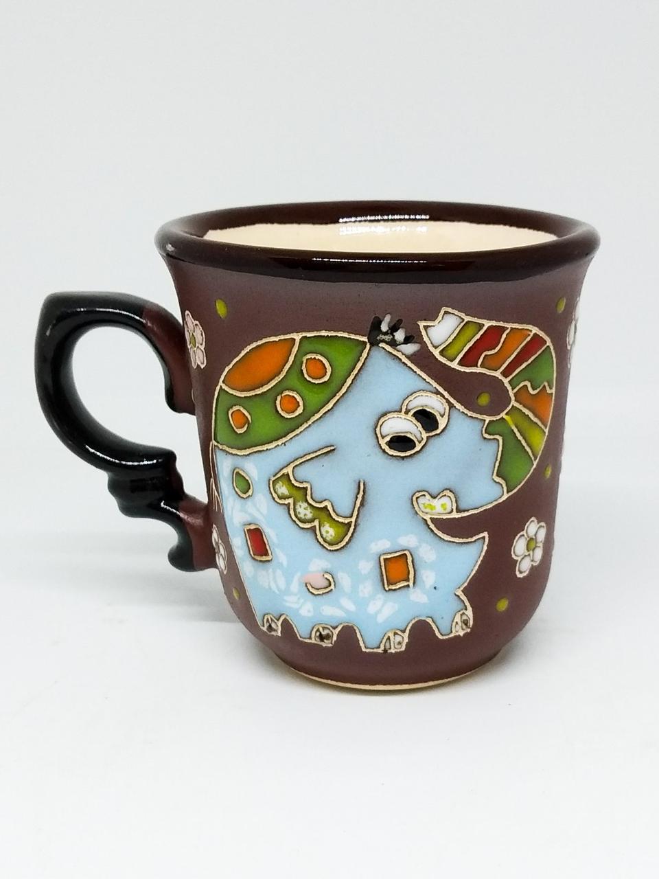 """Чашка кофейная 150мл """"Слон голубой"""""""