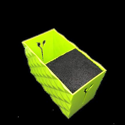 Подставка двойная для парикмахерских ножниц и инструментов SPL 21123, зеленая, фото 2