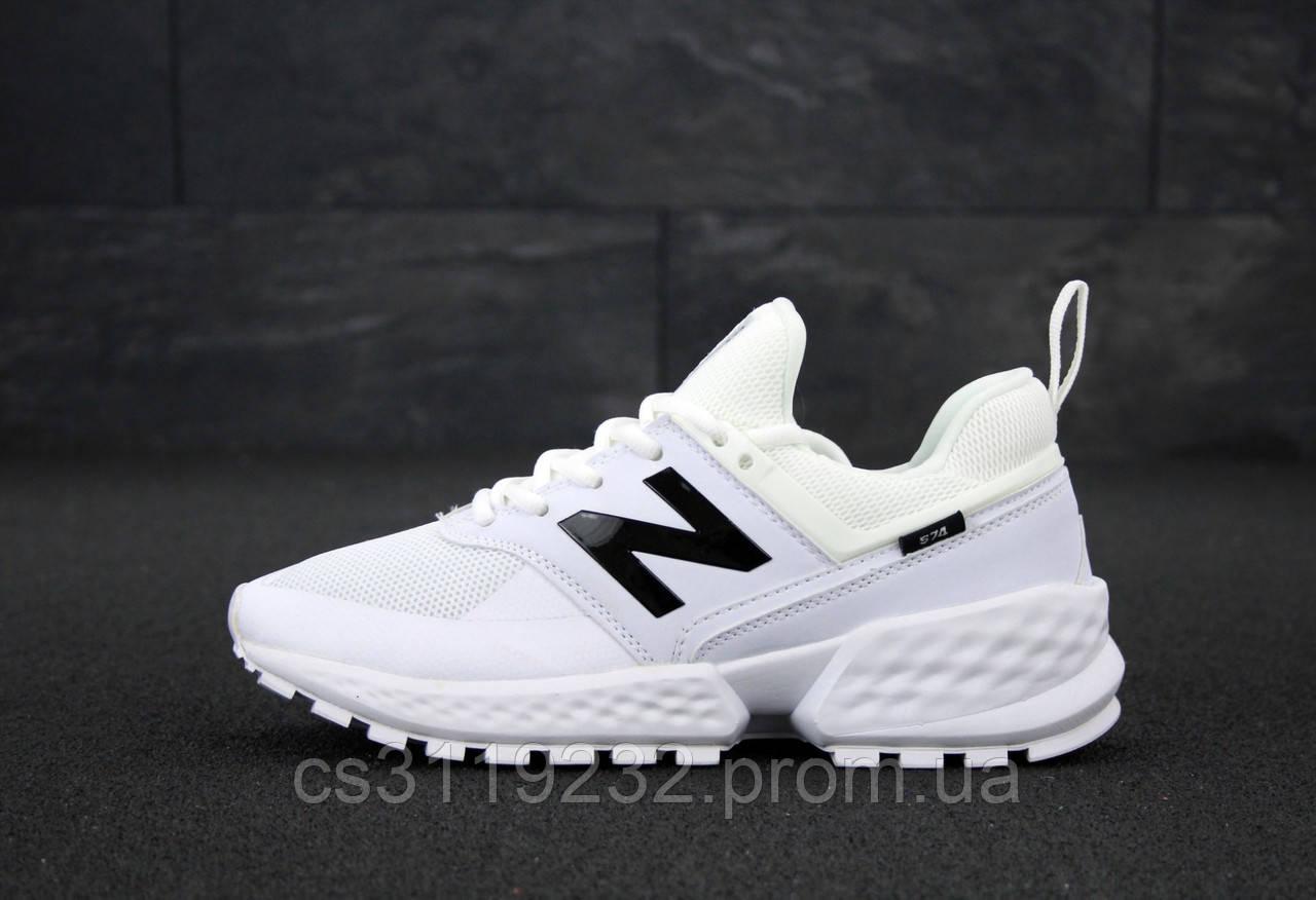 Женские кроссовки New Balance 574 (белые)