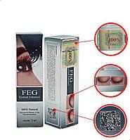 Сыворотка для роста ресниц FEG Eyelash Enhancer, Оригинал все степени защиты на упаковке
