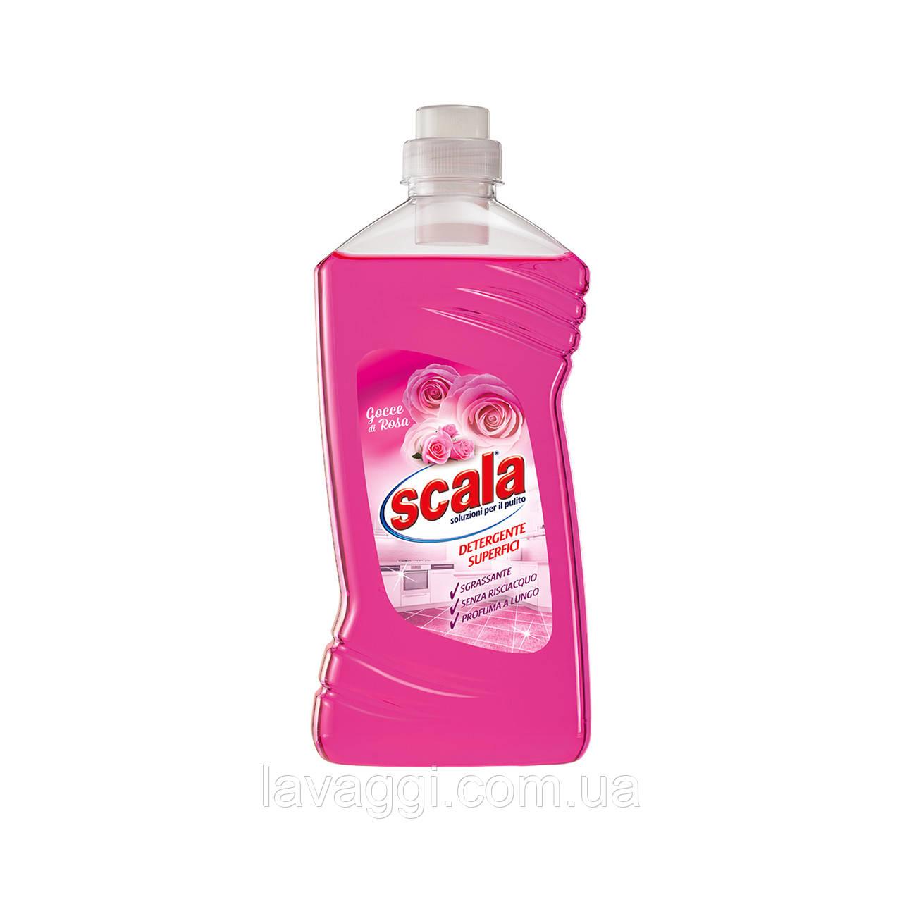 Средство для мытья полов и других поверхностей Scala Detergente Superfici Gocce di Rossa 1L