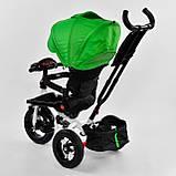 Велосипед детский трехколесный Best Trike 6088 F 1990 поворотное сиденье, пульт, складной руль, фото 5