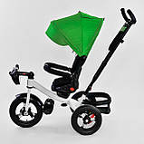 Велосипед детский трехколесный Best Trike 6088 F 1990 поворотное сиденье, пульт, складной руль, фото 4