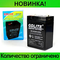 Аккумулятор GDLITE GD-645 (6V4.0AH)!Розница и Опт