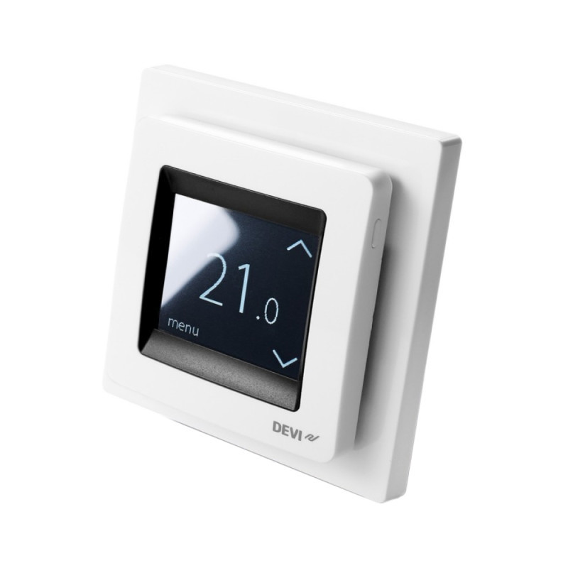 Терморегулятор DEVIreg Touch программируемый с дисплеем (140F1064)