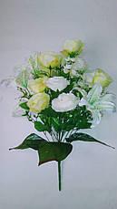 Искусственный букет-композиция Роза с Лилией (80 см), фото 2