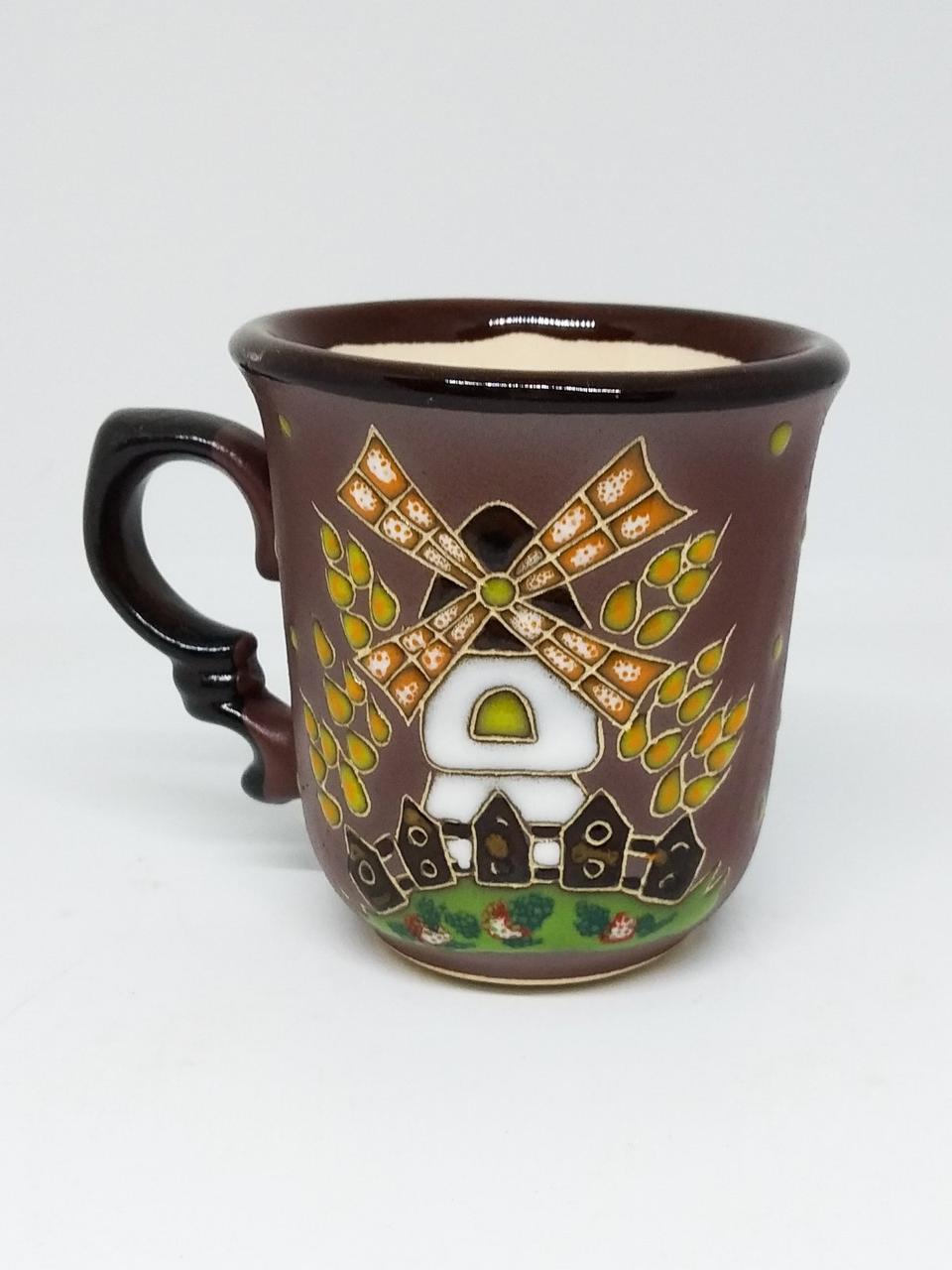 """Чашка кофейная """"Мельница"""""""