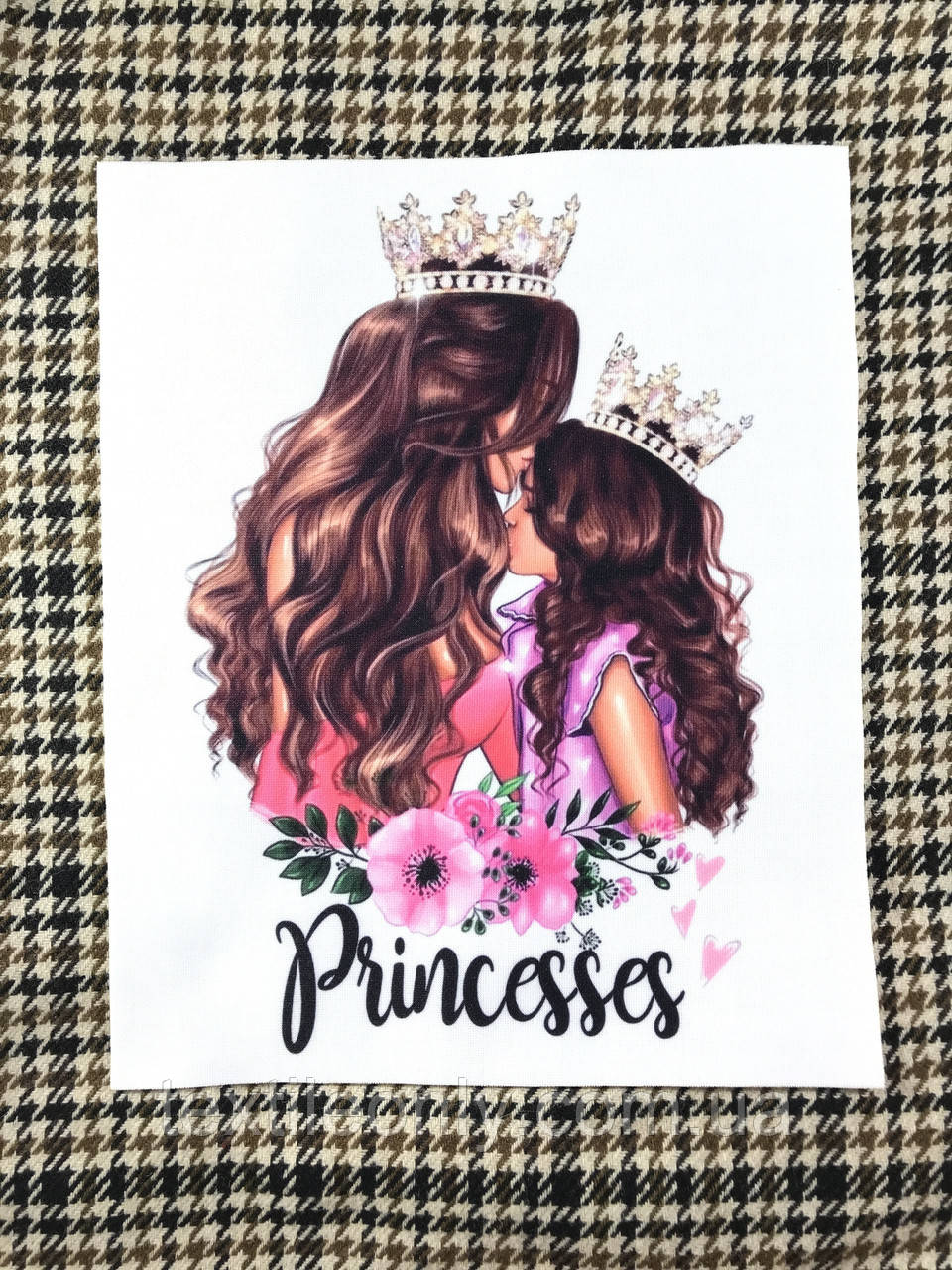 Нашивка Принцессы / Prinsess 180х225 мм