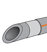 Труба армированная алюминием ППР KOER PN20 63х10,5