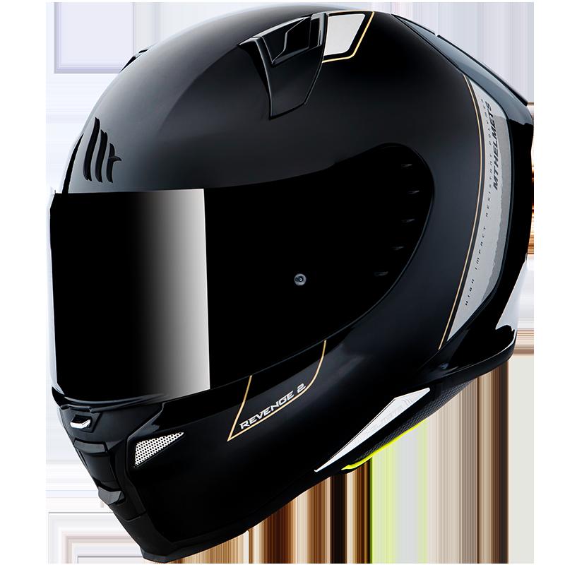 Мотошлем MT Revenge 2 Solid Gloss Black