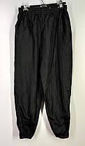 Спортивные черные штаны на резинке размер М, фото 2