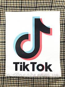 Нашивка Тік Ток / Tik tok 225х265 мм